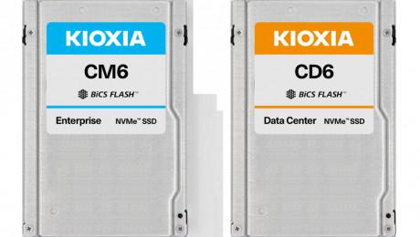 KIOXIA bringt PCIe-4.0-SSDs auf den Markt