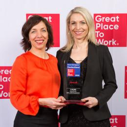 """Great Place to Work®: adesso erzielt Platz 1 beim Wettbewerb """"Deutschlands Beste Arbeitgeber 2020"""" in der Größenklasse """"2.001 bis 5.000 Mitarbeitende"""""""