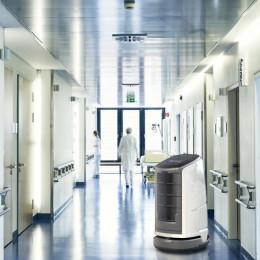 Münchener Service-Roboter kann bei COVID-19-Pandemie unterstützen (FOTO)