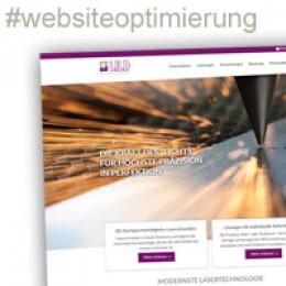 KOMPLETTER RELAUNCH MIT WEBSITEOPTIMIERUNG UMGESETZT