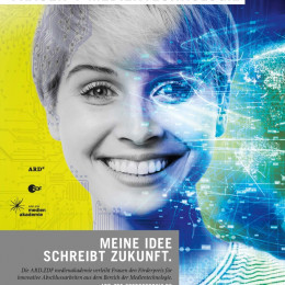 """Im Rampenlicht: Aktuelle Wissenschaftstrends von Frauen/Zehn Nominierte für den ARD/ZDF Förderpreis """"Frauen + Medientechnologie"""" 2020 stehen fest (FOTO)"""