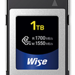 Wise Advanced kündigt CFexpress Type B Karte mit 1 TB an