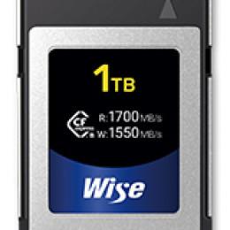 Wise Advanced kündigt CFexpress Type B Karte mit 1 TB an