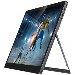 auvisio Mobiler Full-HD-IPS-Touchscreen mit 39,6 cm/15,6″