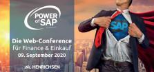 HENRICHSEN AG lädt zur Web-Conference POWER of SAP