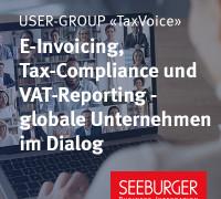 Die User-Group «TaxVoice» startet durch