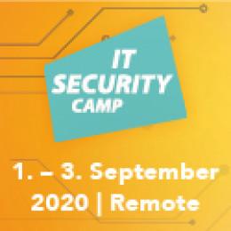 IT Security Camp 2020 im Online-Format