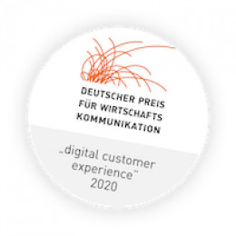 Mit Deutschem Preis für Wirtschaftskommunikation ausgezeichnet: Friendventures Kundenprojekt für Mark-E