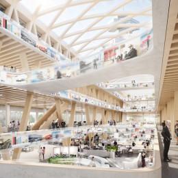 rbb plant Bau des Digitalen Medienhauses nach einem Entwurf von Baumschlager Eberle Architekten (FOTO)