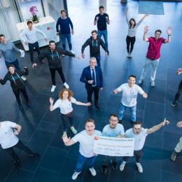 Startup-Idee einer Software zur einfachen KI-Entwicklung für Unternehmen gewinnt 100.000 Euro (FOTO)