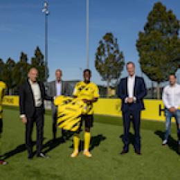 adesso ist neuer Jugend-Hauptsponsor von Borussia Dortmund