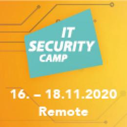 IT Security Camp – Remote im November 2020