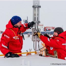 Compart´s Richtfunk leistet großen Beitrag zur erfolgreichen Umsetzung der größten Arktisexpedition aller Zeiten.