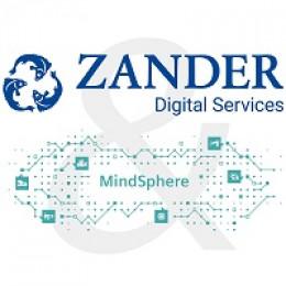 Zander Digital Services: neue strategische Kooperation mit Siemens MindSphere ®