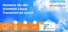 Webinar: Der Weg zu S/4HANA Cloud on Azure