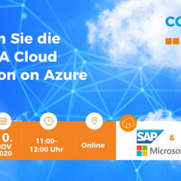 Webinar: Der Weg zu S/4HANA Cloud on Azure