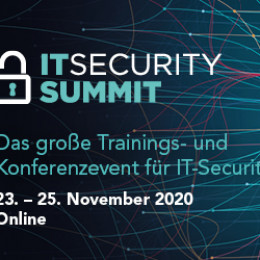 Der neue IT Security Summit 2020 als exklusive Online-Edition