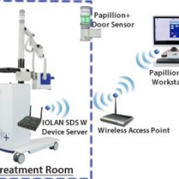 Ariane Medical nutzt Perle WLAN Device Server, um Papillon+ Krebstherapiesystem drahtlos und mobile zu machen