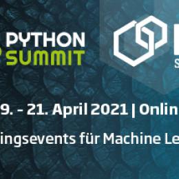 Der ML & Python Summit 2021 als exklusive Online-Edition