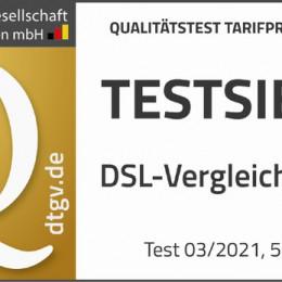 CHECK24 ist Testsieger der DtGV-Studie DSL-Vergleichsportale 2021 (FOTO)