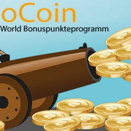 """Neues TK-World Bonuspunkteprogramm mit dreifachen """"ProCoins"""" zur Shop-Wiedereröffnung"""