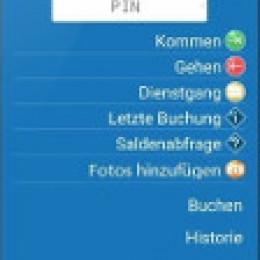 Flintec App für mobile Zeiterfassung mit Fotofunktion