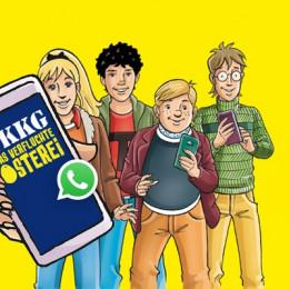 TKKG Oster-Abenteuer mit interaktiver WhatsApp Rätseljagd – Gehe mit TKKG auf die Jagd nach dem verfluchten Osterei! (FOTO)
