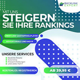 Backlinkexpert.de nun mit Kundenportal