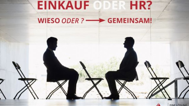 Personaldienstleistung: HR oder Einkauf?  Wieso ODER?  GEMEINSAM!