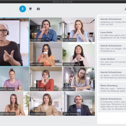 Klimakiller Videokonferenz? (FOTO)