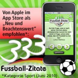 Mit 333 coolen Fussball-Zitaten wird jeder Fan zum Fussball-Party-Held