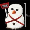 Werbung zum Mitmachen: Komm, lass uns einen Schneemann bauen!