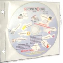 Architops CD-Hüllen mit Sicherheitsvlies optimieren Langzeit CD DVD Aufbewahrung