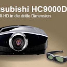 Mitsubishi – HC9000D – Mit Full-HD in die dritte Dimension