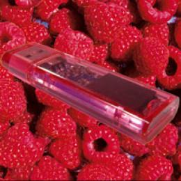 Duftende USB Sticks in fünf Geschmacksrichtungen