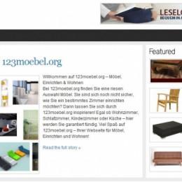 Aktuelle Möbel bei 123moebel.org