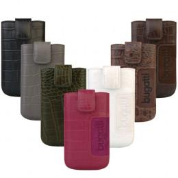 """Krokodillederoptik in hochwertiger Verarbeitung: Das SlimCase Leather""""Croco""""von bugatti bringt Exotik in Aktenkoffer und Handtasche"""