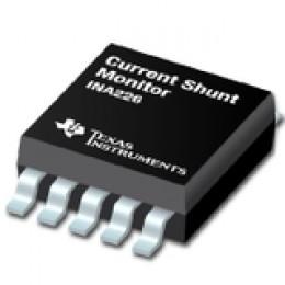 TI präsentiert den branchenweit genauesten Current-Shunt-Monitor