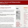 Webpromotion und Onlinemarketing