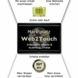 Web2Touch die interaktive Autoren- und eLearning Plattform.