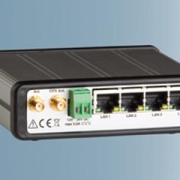 Mobile Maschinen orten&fernwarten: Mobilfunkrouter MLR von INSYS icom mit GPS-Funktion