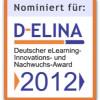 Web2Touch nominiert für den D-ELINA: Deutscher eLearning Innovations- und Nachwuchs-Award