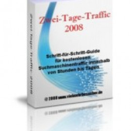 Homepage-Werbung und innerhalb von Stunden viel mehr Traffic