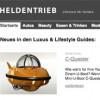 Neues Luxus-Webportal trotz Finanzkrise