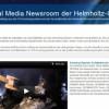 Helmholtz-Gemeinschaft: Social Media Newsroom startet mit NewsRoomWizard