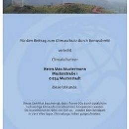 Bonusdirekt.de Mitglieder unterstützen den weltweiten CO2 Abbau