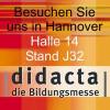 Inorm präsentiert i-NET-Menue zusammen mit der Hochschule Fulda auf der Bildungsmesse didacta in Hannover, Halle 14, Stand J32