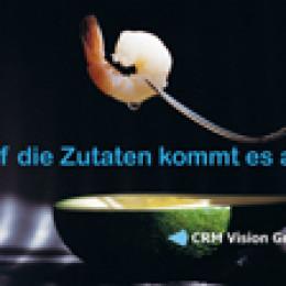 """CRM Vision Group startet Veranstaltungsreihe """"Auf die Zutaten kommt es an"""" im Meisterhaus Unna"""