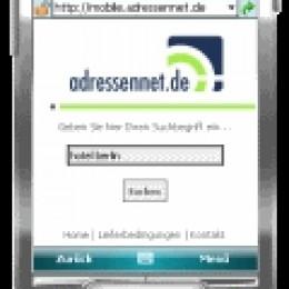 Adressennet für Mobiltelefone (Unitel Nijmegen B.V.)