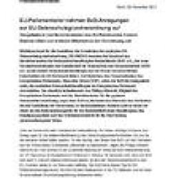 EU-Parlamentarier nehmen BvD-Anregungen zur EU-Datenschutzgrundverordnung auf